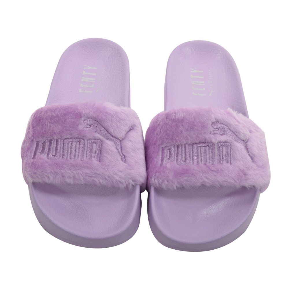 save off 3c776 d419f FENTY x PUMA by Rihanna SLIPPERS FUR SLIDE 365772-02 365772