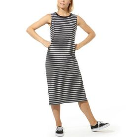 VANS MINI CHECK MIDI DRESS VN0A4DRFBLK1 VN0A4DRFBLK1