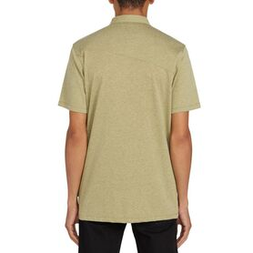 VOLCOM WOWZER POLO BLOUSE MENS A0111700-MSS A0111700