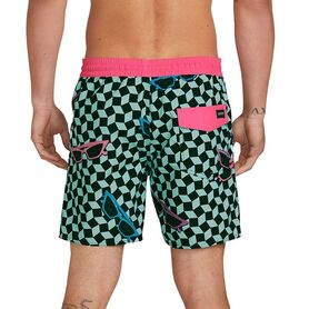 VOLCOM FLASHBACK TRUNK 17  MENS A2512002-RES A2512002
