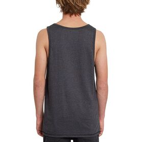 VOLCOM CIRCLE BLANKS HTH TT BLOUSE MENS A4512054-HBK A4512054