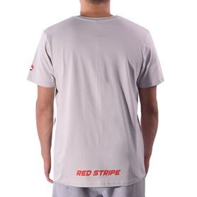 HOOF T-SHIRT RED STRIPE HFM01106-0320 HFM01106