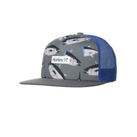 HURLEY PRINTED SQUARE TRUCKER CJ6847-406 CJ6847
