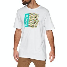HURLEY T-SHIRT ONE AND ONLY TIGER BOX CQ8551-100 CQ8551