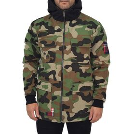CAYLER & SONS ORDER ARMY JACKET WOVEN BL-AW18-AP-04 BL-AW18-AP-04