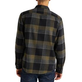 LEE LEE WORKER SHIRT OLIVE GREEN L68HRINX L68HRINX