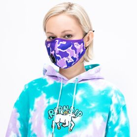RIP N DIP PURPLE CAMO VENTILATED MASK RND4282P RND4282