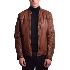 RICANO LEATHER JACKET RX-M-157-50 RX-M-157-50