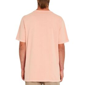 VOLCOM SOLID STONE EMB SS TEE BLOUSE MENS A5211906-CYO A5211906