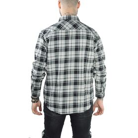 EDWIN Labour Shirt Light Flannel Brushed Cotton Check I024953-03 I024953-03