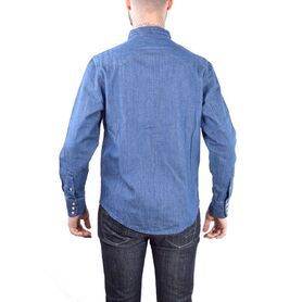 EDWIN SHIRT Kaito Twilight Denim I024949-03-F8MD I024949-03