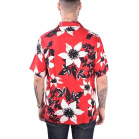 EDWIN Garage Shirt SS Twill Rayon Floral allover I024951-03-01G6 I024951-03