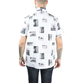 EDWIN SHIRT  The Archive Shirt ss Cotton Oxford I024963-03-02 024963-03