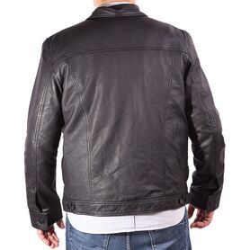 SHAIKKO LEATHER JACKET SPIKE SK05M2LJ003-BLK SK05M2LJ003
