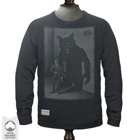 DIRTY VELVET SWEATSHIRT SHADOWMAN DV45437 DV45437