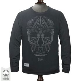 DIRTY VELVET SWEATSHIRT DEATH MASK DV45439 DV45439