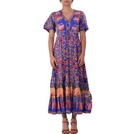 JAASE DRESS BODHI PRINT ASHLAND MAXI 20175004-0409 20175004