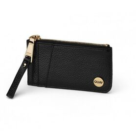 QUAY AUSTRALIA TOP ZIP WALLET QA-000451-BLK-GOLD QA-000451