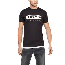 G STAR T-SHIRT GRAPHIC 4 D15104-336-6484 D15104-336-6484