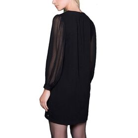 DEELUXE DRESS ATTICA W19211-BLK W19211