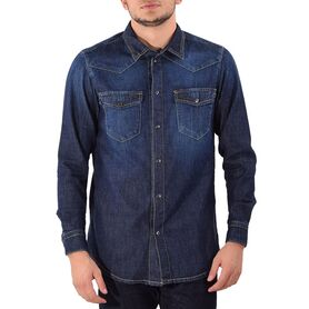NEW DENIM SHIRT ND15113-33 ND15113