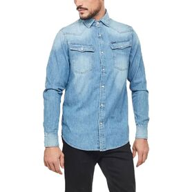 G-STAR 3301 straight shirt l-s D12698-D013-071 D12698-D013-071