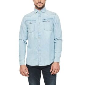 G-STAR 3301 straight shirt l-s D12698-D013-424 D12698-D013-424