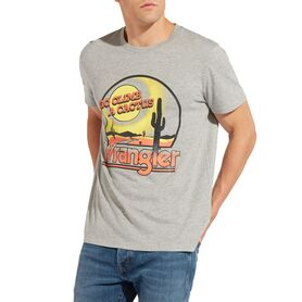WRANGLER T-SHIRT OUT WEST W7C30FQ37 W7C30FQ37